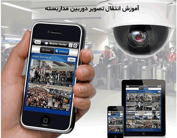 آموزش انتقال تصویر دوربین مداربسته P2P