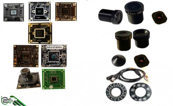 تنوع سنسور تصویر در بازار دوربین مداربسته