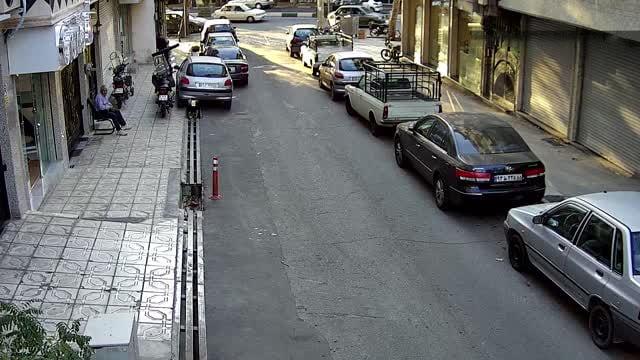 نمونه تصویر دوربین مداربسته ahd