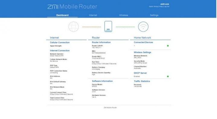 پاور بانک 7800mAh و مودم همراه LTE زد ام آی مدل ZMI MF855 - رایانه همراه (1)