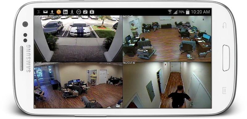 REMOTE VIEWING CCTV انتقال تصویر به روش ای پی استاتیک در شیراز