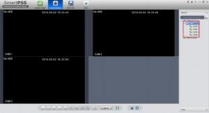 انتقال تصویر داهوا با ای پی استاتیک در نرم افزار کامپیوتر