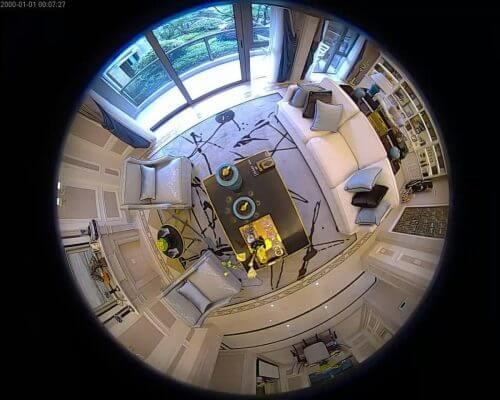 نمونه تصویر دوربین لامپی