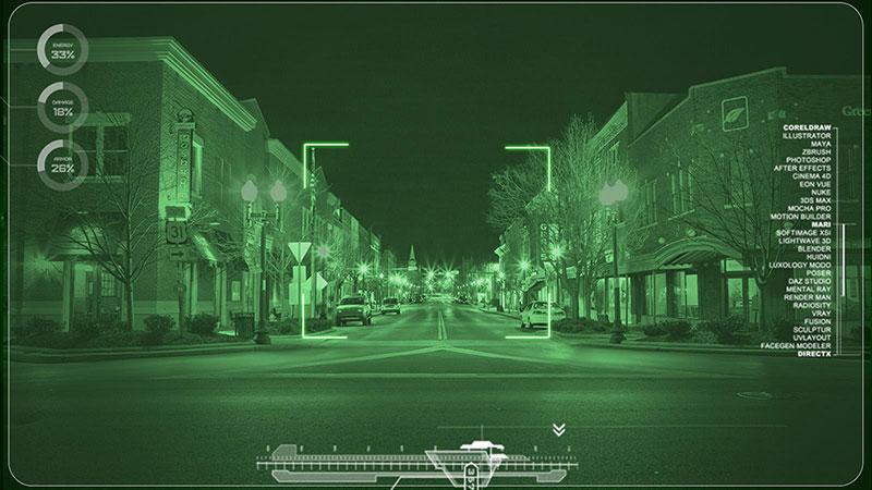 دید در شب تعمیر دوربین مداربسته