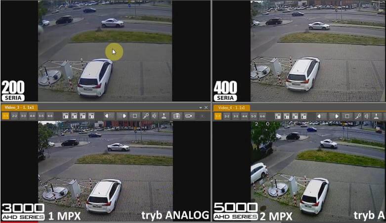 تفاوت بین رزولوشن های مختلف دوربین مداربسته