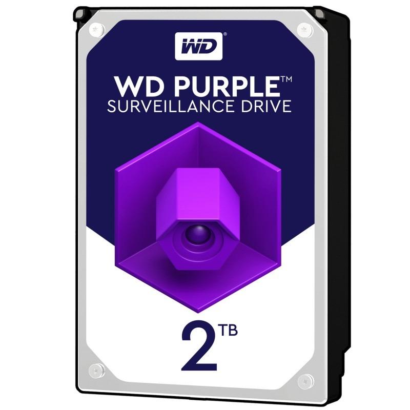 هارد اینترنال 2 ترابایت وسترن بنفش مدل WD20PURZ